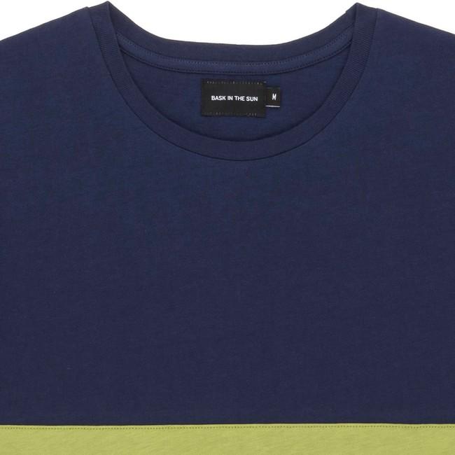 T-shirt en coton bio olive teofilo - Bask in the Sun num 1