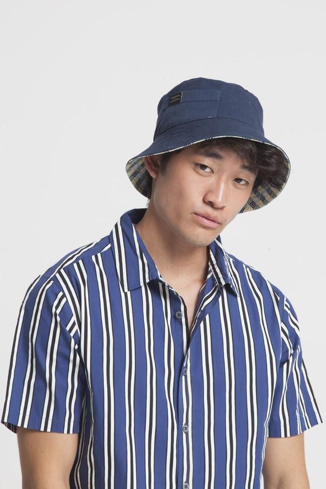Chemise manches courtes rayée en coton bio - tom - Thinking Mu num 2