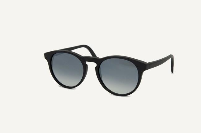 Lunettes de soleil - brighton matte recycled black - Dick Moby num 1