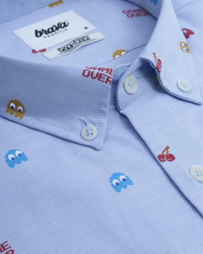 Oxford-shirt pac-man™ x brava - Brava Fabrics num 2