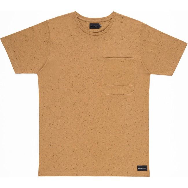 T-shirt en coton bio brown pantxoa - Bask in the Sun