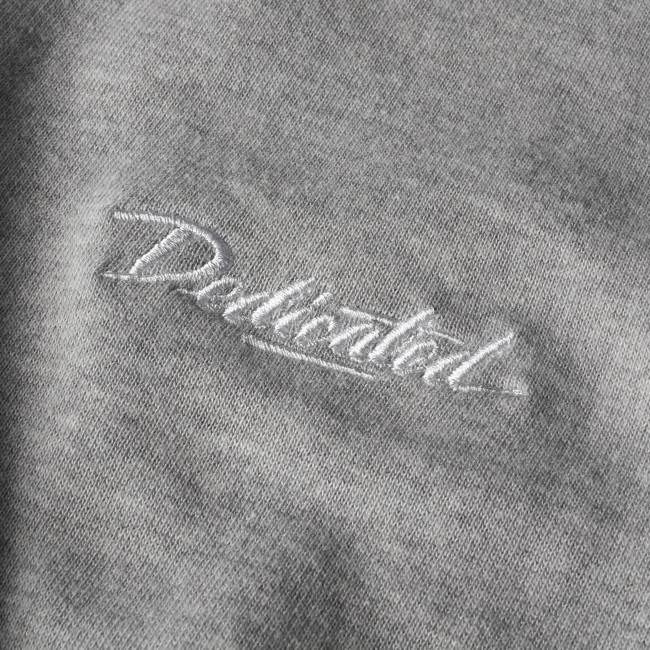 Sweatshirt gris en coton bio - Dedicated num 1