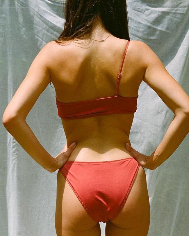 Simone culotte - rouge-grenadine - Nénés Paris num 1