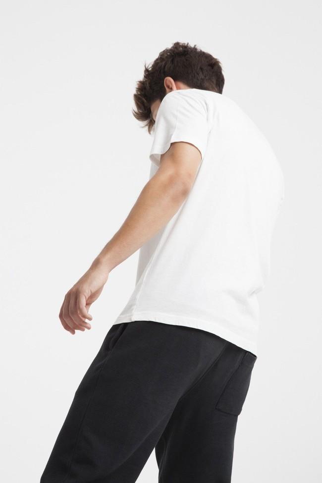 T-shirt blanc siesta en coton biologique - Thinking Mu num 2