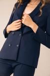 Veste tailleur boston bleu marine - 17h10 - 1