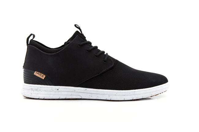 Chaussures recyclées semnoz homme noir - Saola num 2