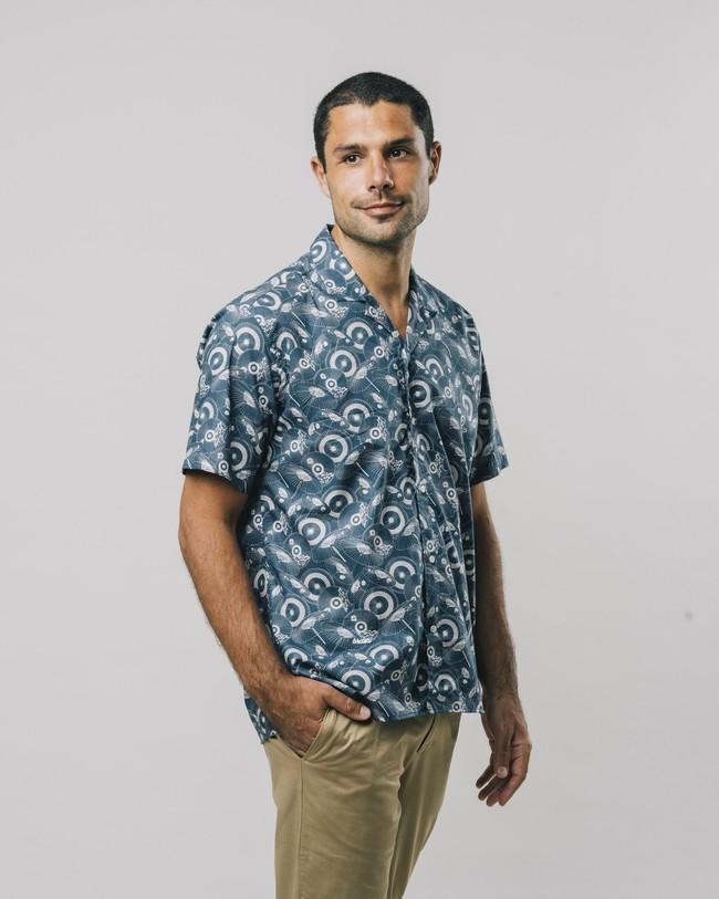 The osaka parasol aloha shirt - Brava Fabrics num 6