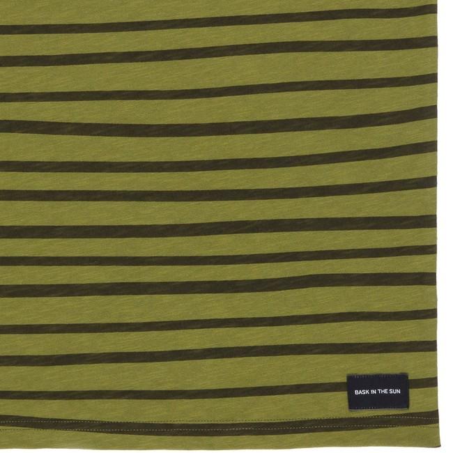 T-shirt en coton bio kaki esperanza - Bask in the Sun num 3