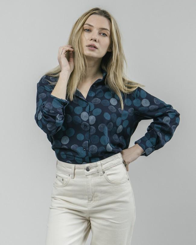 Hana bloom printed blouse - Brava Fabrics