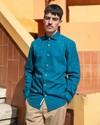 Arctic orca printed shirt - Brava Fabrics - 5