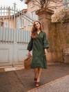 Robe verte - Maison Alfa - 3