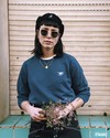 Japanese sky sweatshirt - Brava Fabrics - 8