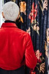 Bombers femme velours rouge - Les Récupérables - 4