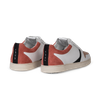 Chaussure en glencoe cuir blanc / suède flamingo - O.T.A - 4