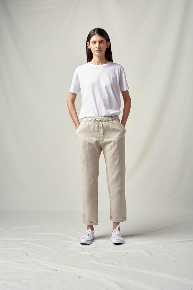 Pantalon tenerife en lin - Noyoco
