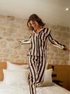 Chemise de pyjama adéle // rayure - Bagarreuse - 3