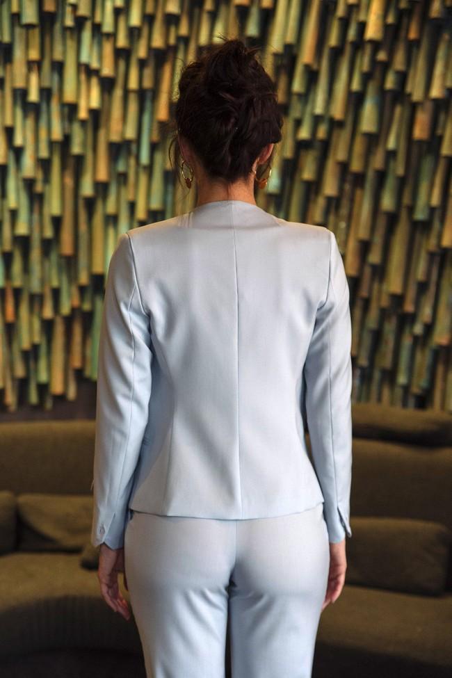 Veste tailleur sydney bleu pastel - 17h10 num 4