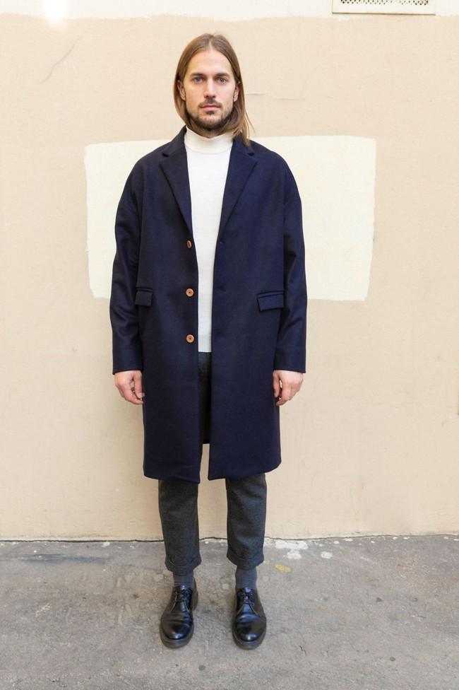 Manteau genoa laine & cachemire - Noyoco num 2