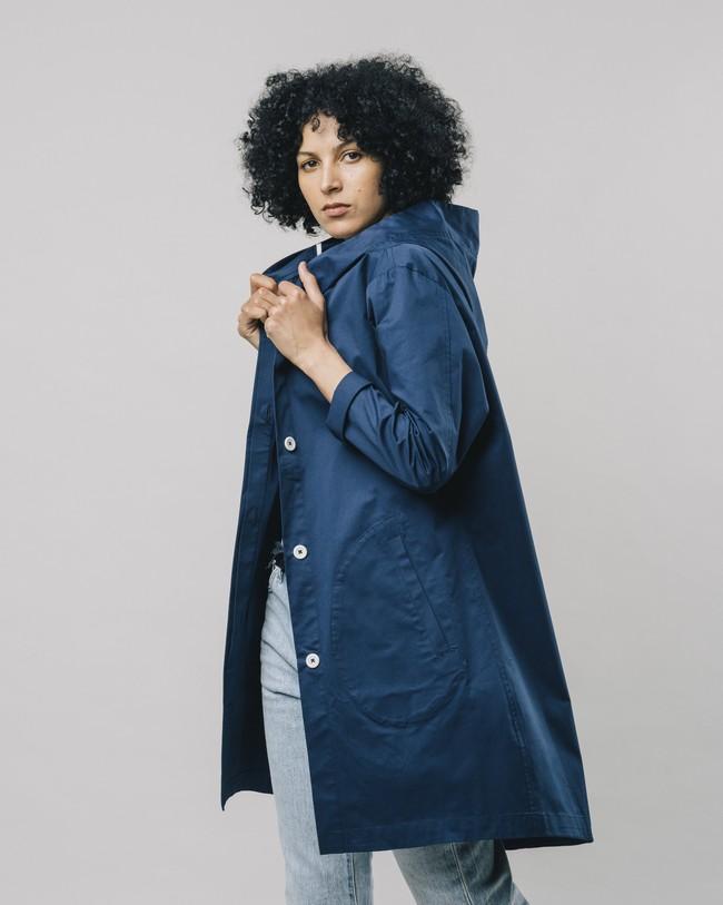 Hooded parka blue - Brava Fabrics num 5