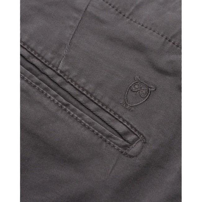 Chino slim gris en coton bio - joe - Knowledge Cotton Apparel num 3