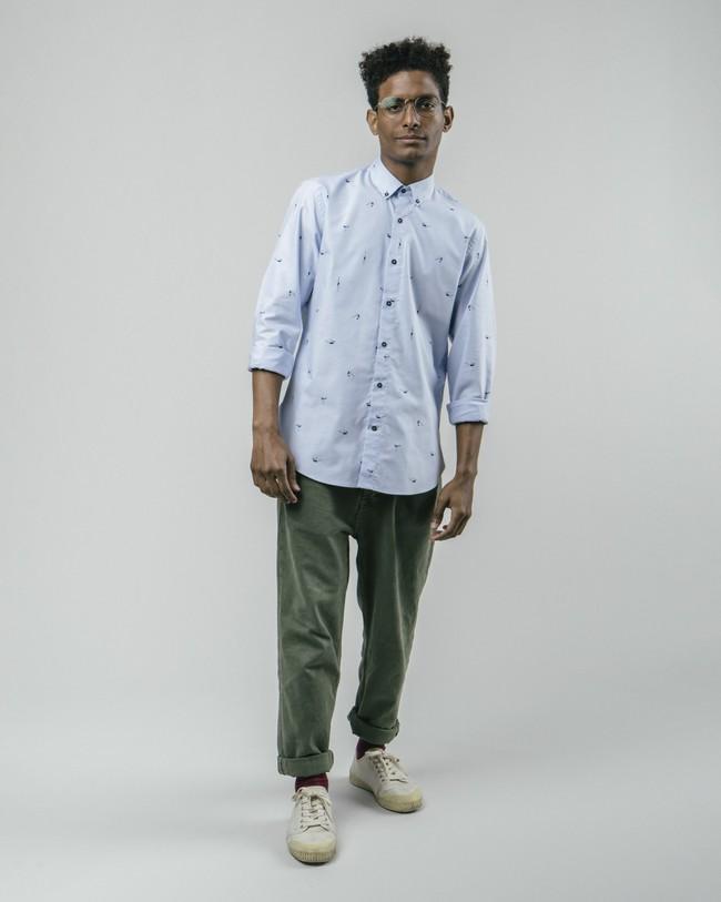 Vintage swimmer printed shirt - Brava Fabrics num 4