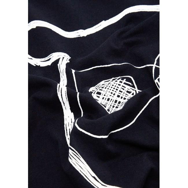 T-shirt chouette en coton bio - Knowledge Cotton Apparel num 2