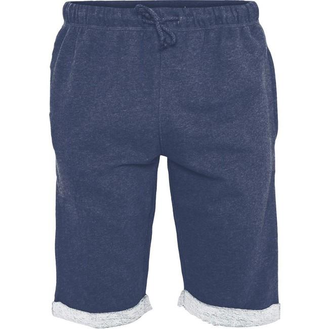 Short jogging bleu marine en coton bio - Knowledge Cotton Apparel
