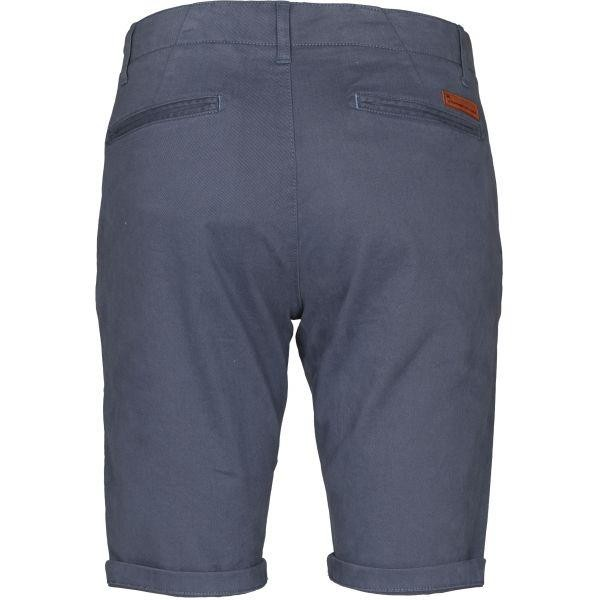 Short chino bleu en coton bio - Knowledge Cotton Apparel num 1
