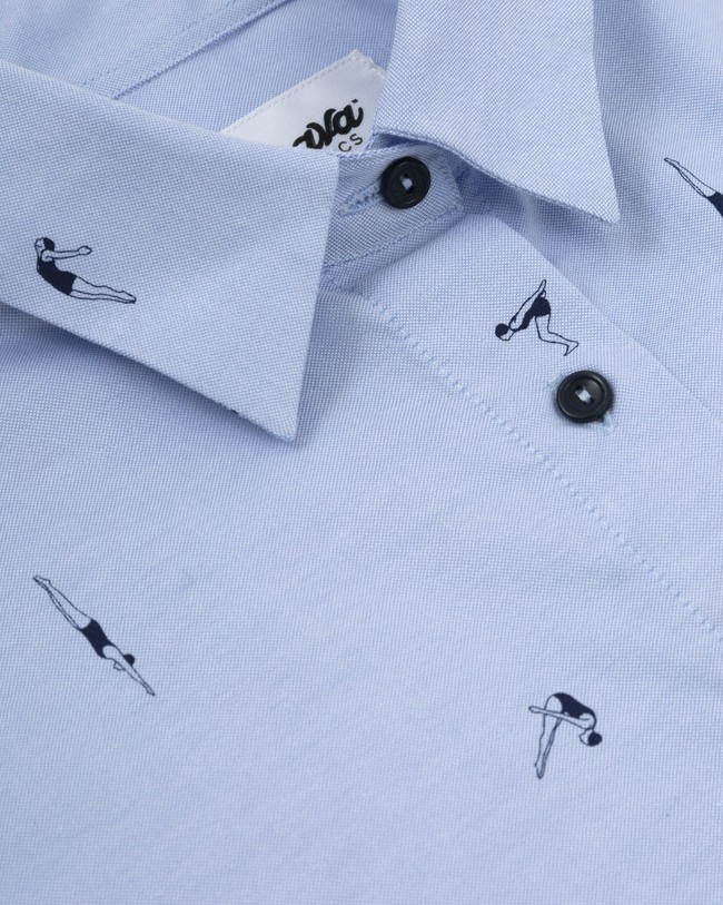 Vintage swimmer oversized blouse - Brava Fabrics num 2