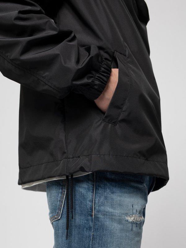 Anorak pull over noir en matières recyclées - buster - Nudie Jeans num 7
