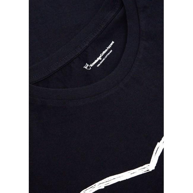 T-shirt chouette en coton bio - Knowledge Cotton Apparel num 3