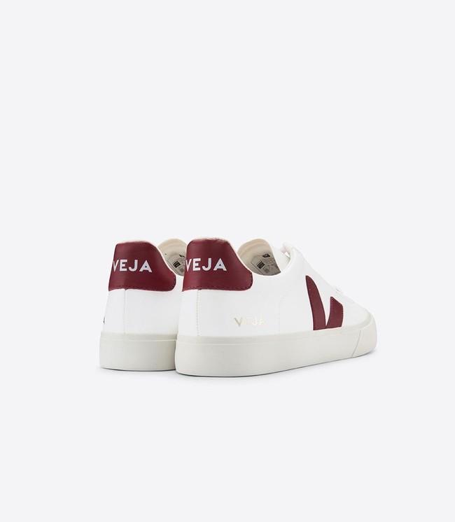 Baskets campo easy white marsala - Veja num 2