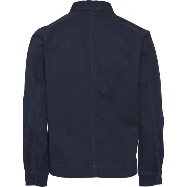 Veste marine en coton bio - Knowledge Cotton Apparel num 1