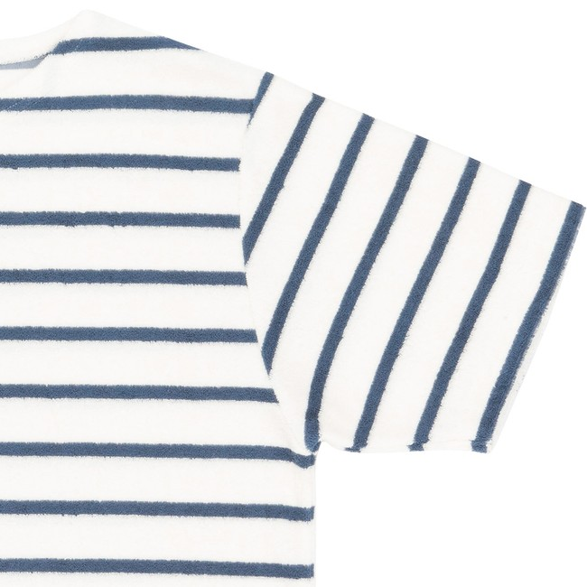 T-shirt en coton bio blue goxo - Bask in the Sun num 2