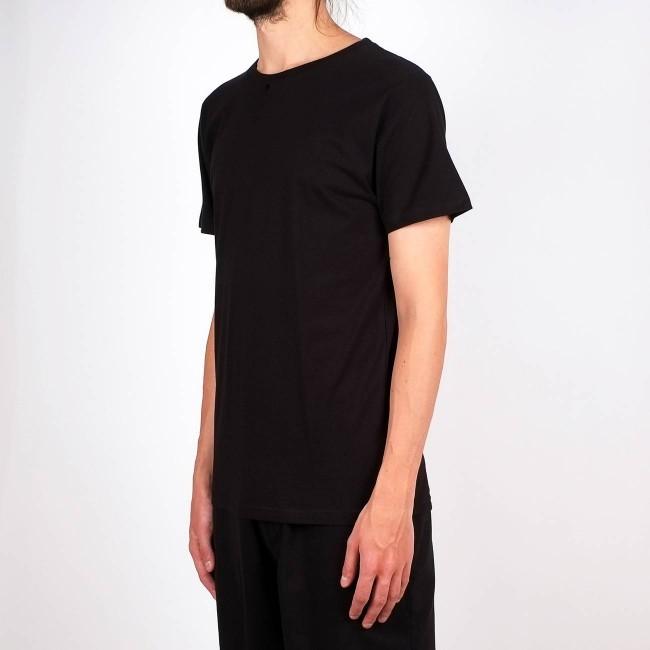T-shirt noir en coton bio - stockholm - Dedicated num 1