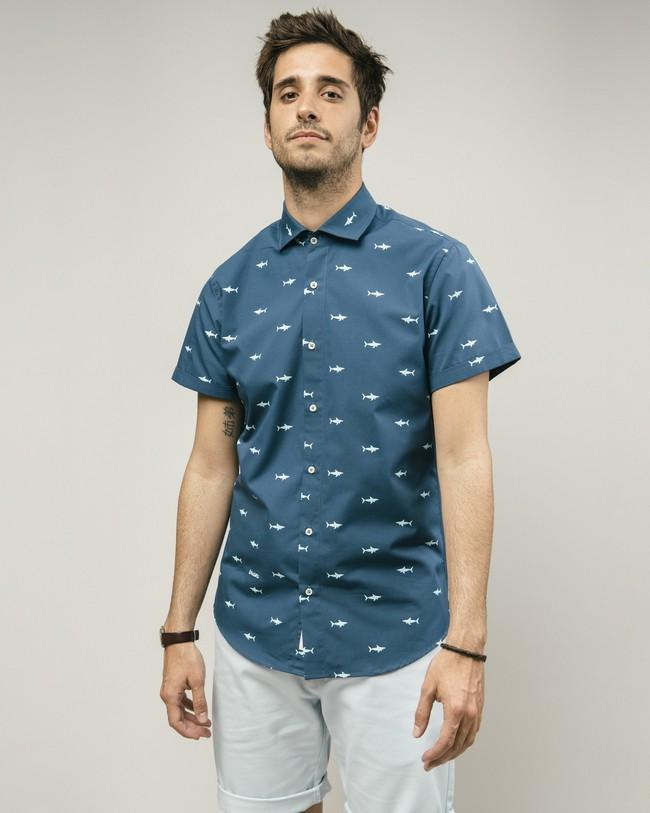 Sharks printed shirt - Brava Fabrics
