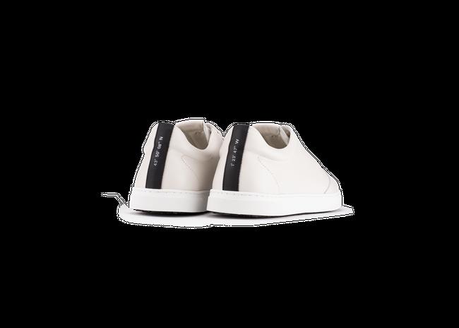 Chaussure en gravière cuir crème / semelle blanc - Oth num 2