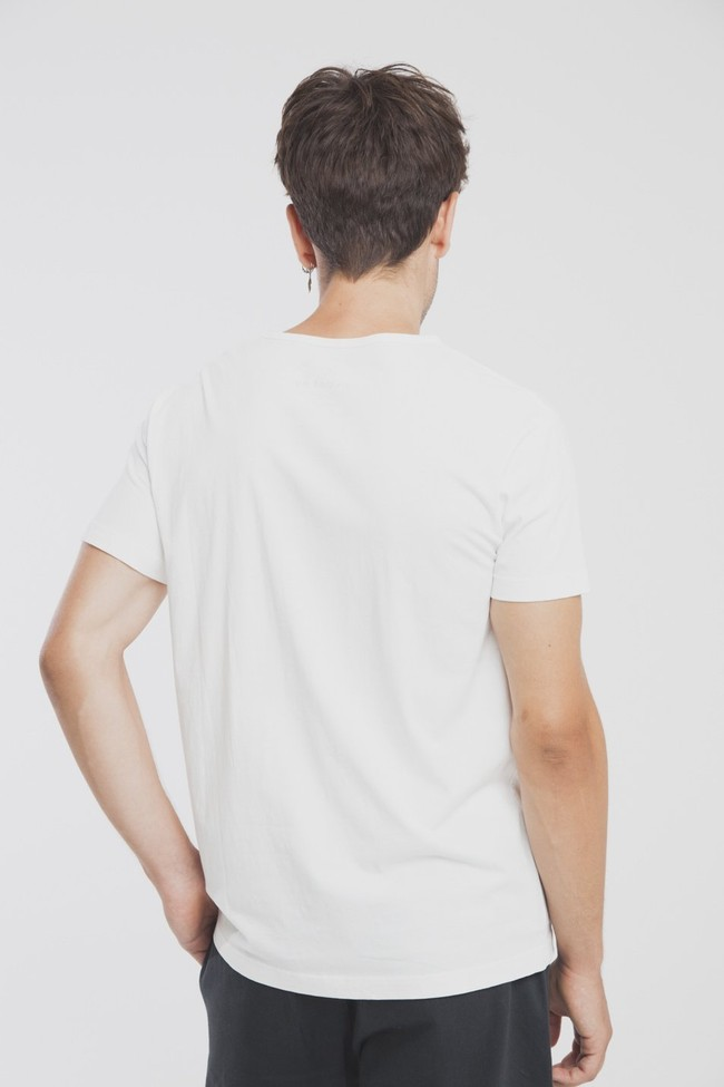 T-shirt en coton bio with or without - Thinking Mu num 8