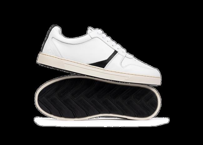 Chaussure en glencoe cuir blanc - Oth