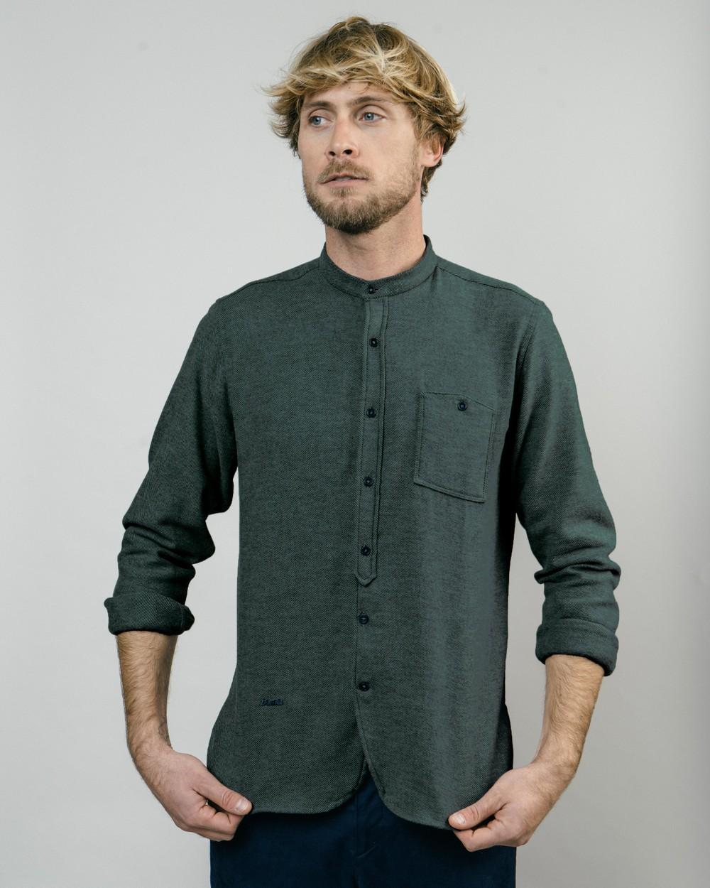 Alaska green essential shirt - Brava Fabrics