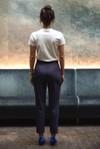 Pantalon tailleur casablanca navy - 17h10 - 2