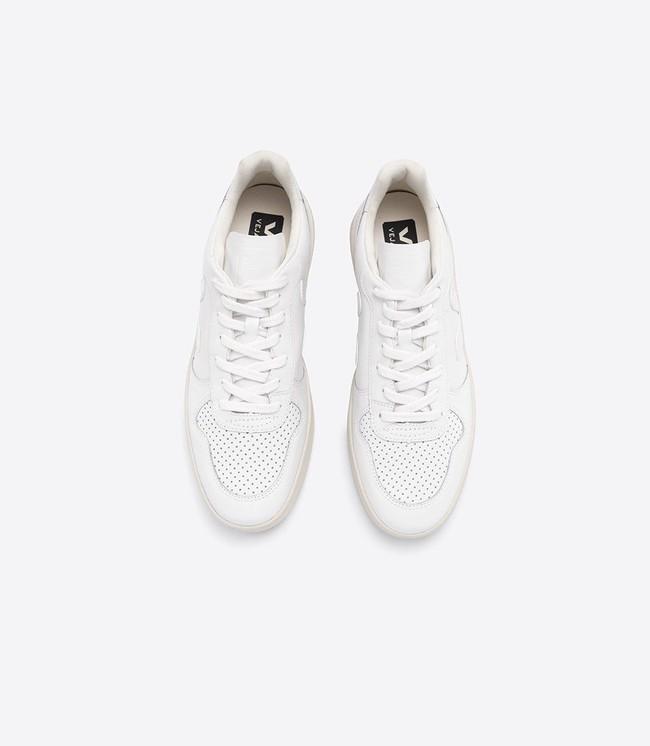 Baskets v-10 extra white - Veja num 1