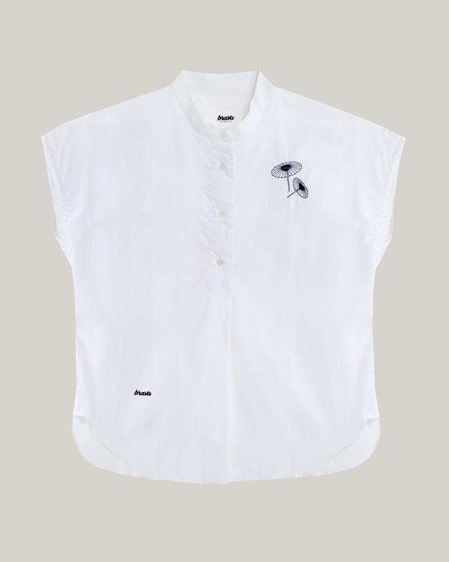 The osaka parasol essential blouse - Brava Fabrics num 1