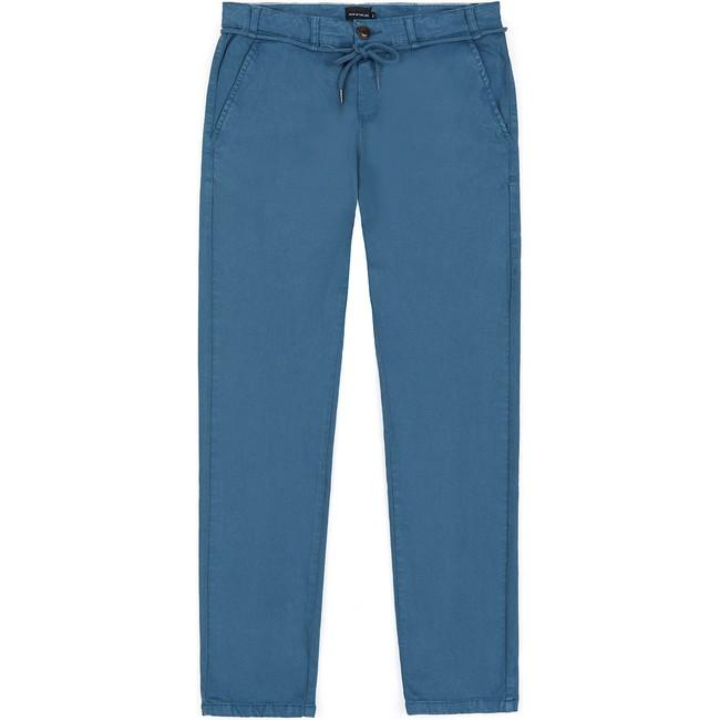 Pantalon en coton bio blue tiago - Bask in the Sun