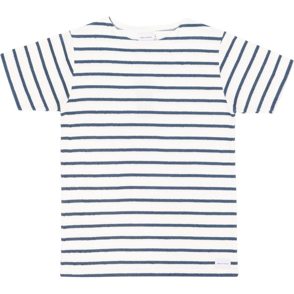 T-shirt en coton bio blue goxo - Bask in the Sun