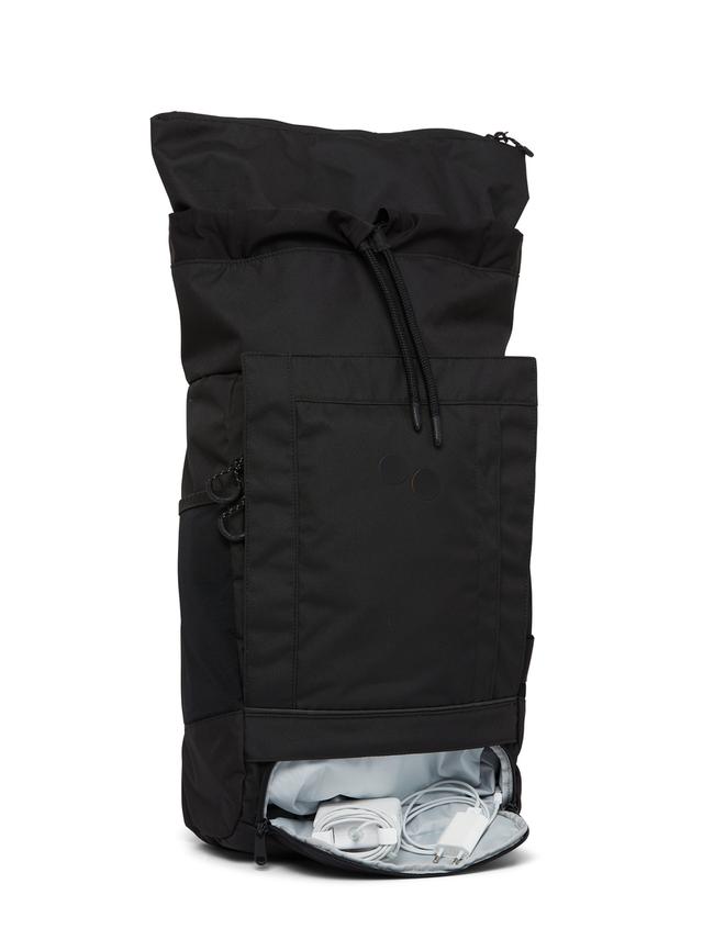 Sac à dos noir recyclé - blok medium all - pinqponq num 4