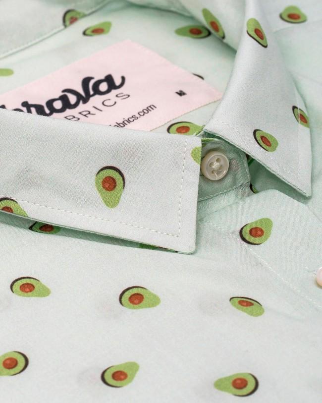 Avocado cocktail printed blouse - Brava Fabrics num 1