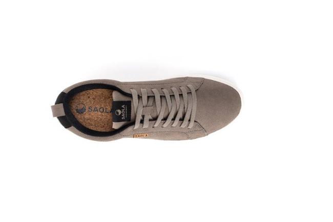 Chaussures recyclées cannon brindle homme - Saola num 3