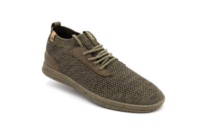 Chaussures recyclées mindo burnt olive - Saola
