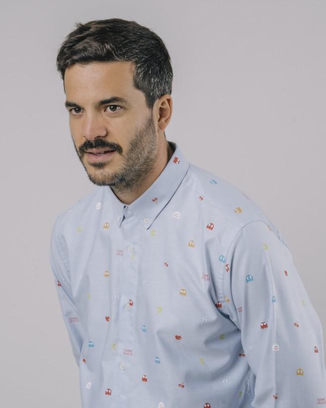 Oxford-shirt pac-man™ x brava - Brava Fabrics num 4